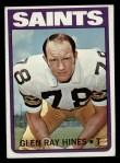 1972 Topps #242  Glen Ray Hines  Front Thumbnail