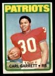 1972 Topps #229  Carl Garrett  Front Thumbnail