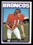1972 Topps #154  Bob Anderson  Front Thumbnail