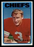 1972 Topps #61  Jan Stenerud  Front Thumbnail