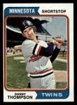 1974 Topps #168  Danny Thompson  Front Thumbnail