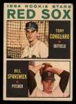 1964 Topps Venezuelan #287   -  Tony Conigliaro / Bill Spanswick  Red Sox Rookies Front Thumbnail