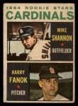 1964 Topps Venezuelan #262   -  Mike Shannon / Harry Fanok  Cardinals Rookies Front Thumbnail