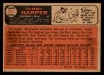 1966 Topps Venezuelan #214  Tommy Harper  Back Thumbnail