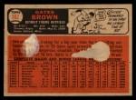 1966 Topps Venezuelan #362  Gates Brown  Back Thumbnail