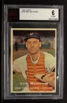 1957 Topps #323  Wes Westrum  Front Thumbnail
