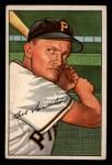 1952 Bowman #119  Bill Howerton  Front Thumbnail