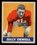 1948 Leaf #39  Billy Dewell  Front Thumbnail