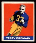 1948 Leaf #11  Terry Brennan  Front Thumbnail