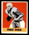 1948 Leaf #82  Fred Enke  Front Thumbnail