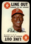 1968 Topps Game #23  Rich Allen  Front Thumbnail