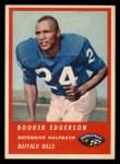 1963 Fleer #30  Booker Edgerson  Front Thumbnail