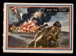 1953 Topps Fighting Marines #56   Into The Flames Front Thumbnail
