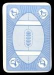 1971 Topps Game #25  Len Dawson  Back Thumbnail
