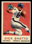 1959 Topps CFL #63  Dick Shatto  Front Thumbnail