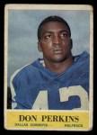 1964 Philadelphia #53  Don Perkins     Front Thumbnail