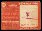 1958 Topps #92  Paige Cothren  Back Thumbnail