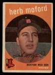 1959 Topps #91  Herb Moford  Front Thumbnail