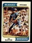 1974 Topps #371  Jim Slaton  Front Thumbnail