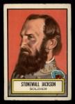1952 Topps Look 'N See #40  Stonewall Jackson  Front Thumbnail