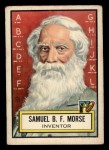 1952 Topps Look 'N See #70  Samuel Morse  Front Thumbnail