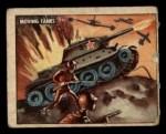1950 Topps Freedoms War #141   Moving Tanks  Front Thumbnail