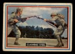 1953 Topps Fighting Marines #12   Clashing Steel Front Thumbnail