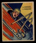 1933 National Chicle Sky Birds #47 A Lt. Edward Parsons   Front Thumbnail