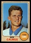 1968 Topps #427  Dick Calmus  Front Thumbnail