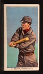1909 T206 CHI George Browne  Front Thumbnail