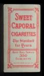 1909 T206  Steamer Flanagan  Back Thumbnail