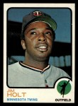 1973 Topps #259  Jim Holt  Front Thumbnail
