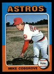 1975 Topps Mini #96  Mike Cosgrove  Front Thumbnail