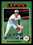 1975 Topps Mini #568  Dale Murray  Front Thumbnail
