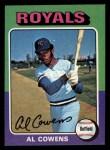 1975 Topps Mini #437  Al Cowens  Front Thumbnail