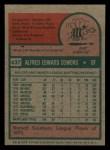 1975 Topps Mini #437  Al Cowens  Back Thumbnail