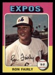 1975 Topps Mini #270  Ron Fairly  Front Thumbnail