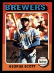 1975 Topps Mini #360  George Scott  Front Thumbnail