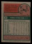 1975 Topps Mini #88  Tom Egan  Back Thumbnail
