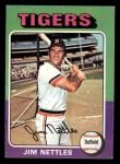 1975 Topps Mini #497  Jim Nettles  Front Thumbnail