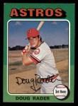1975 Topps Mini #165  Doug Rader  Front Thumbnail