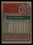 1975 Topps Mini #572  Roger Nelson  Back Thumbnail