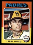 1975 Topps Mini #112  Larry Hardy  Front Thumbnail