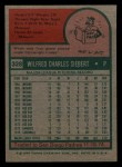 1975 Topps Mini #328  Sonny Siebert  Back Thumbnail