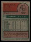 1975 Topps #631  Lee Lacy  Back Thumbnail