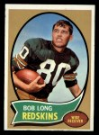 1970 Topps #53  Bob Long  Front Thumbnail