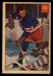 1954 Parkhurst #74  Dean Prentice  Front Thumbnail