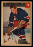 1954 Parkhurst #71  Wally Hergesheimer  Front Thumbnail