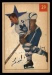 1954 Parkhurst #29  Teeder Kennedy  Front Thumbnail