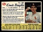 1962 Post Canadian #164  Ernie Broglio  Front Thumbnail